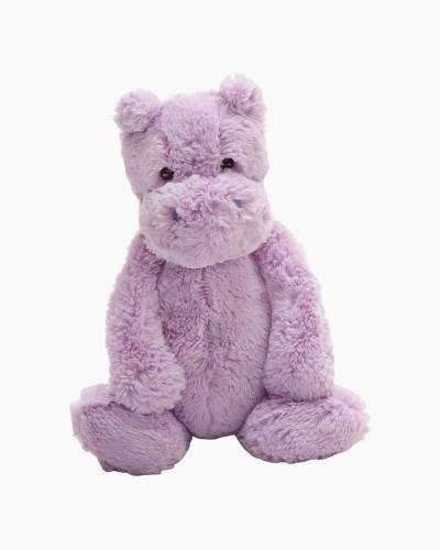 Bashful Lilac Hippo Plush (Medium)
