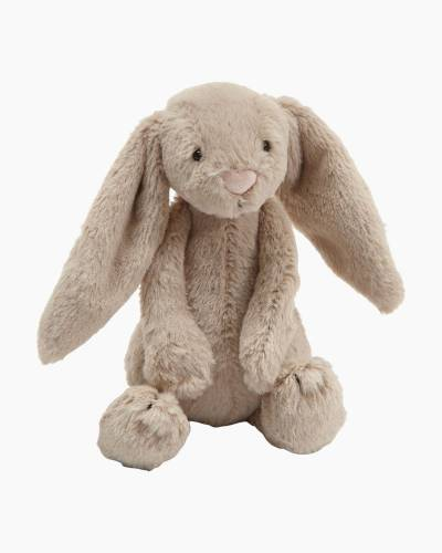 Bashful Beige Bunny Plush (Small)