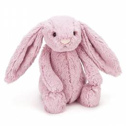Jellycat Bashful Pink Tulip Bunny Plush (Medium)