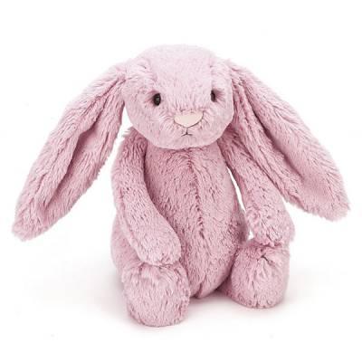 Bashful Pink Tulip Bunny Plush (Medium)