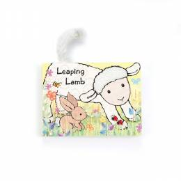 Jellycat Board Book- Leaping Lamb