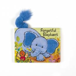 Jellycat Board Book- Forgetful Elephant