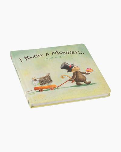 I Know a Monkey Board Book