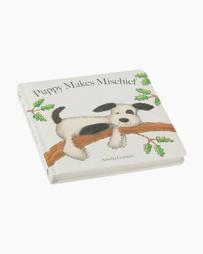 Puppy Makes Mischief Board Book
