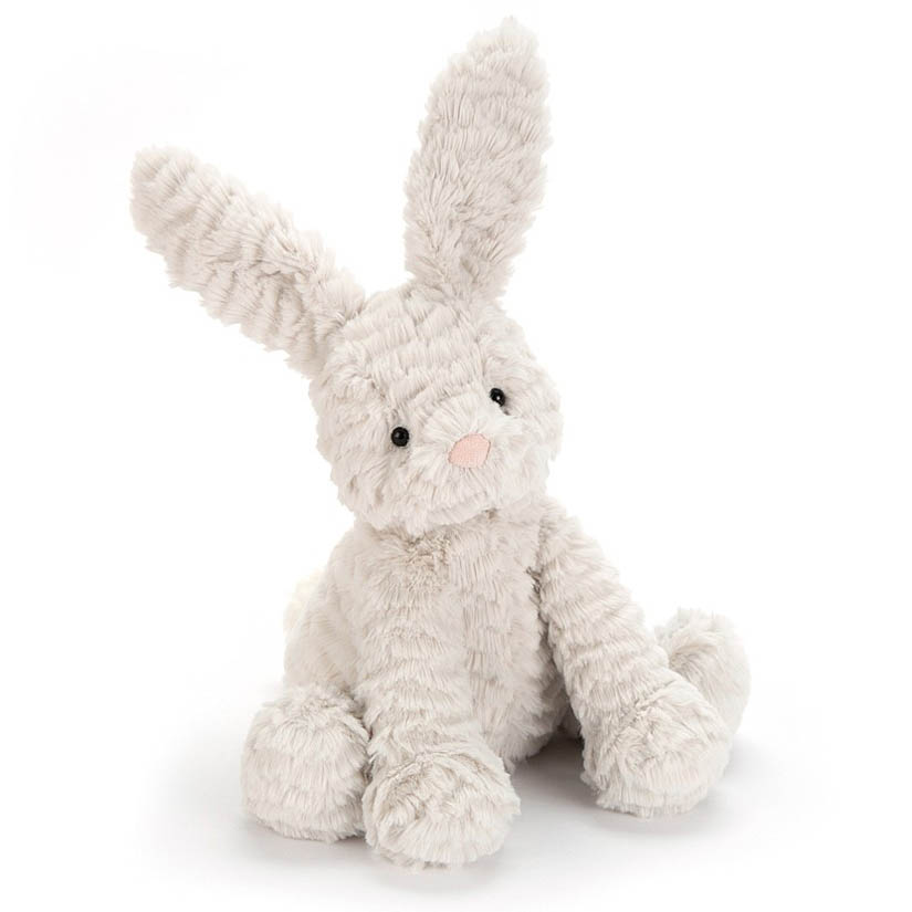 Jellycat Fuddlewuddle Grey Bunny Plush