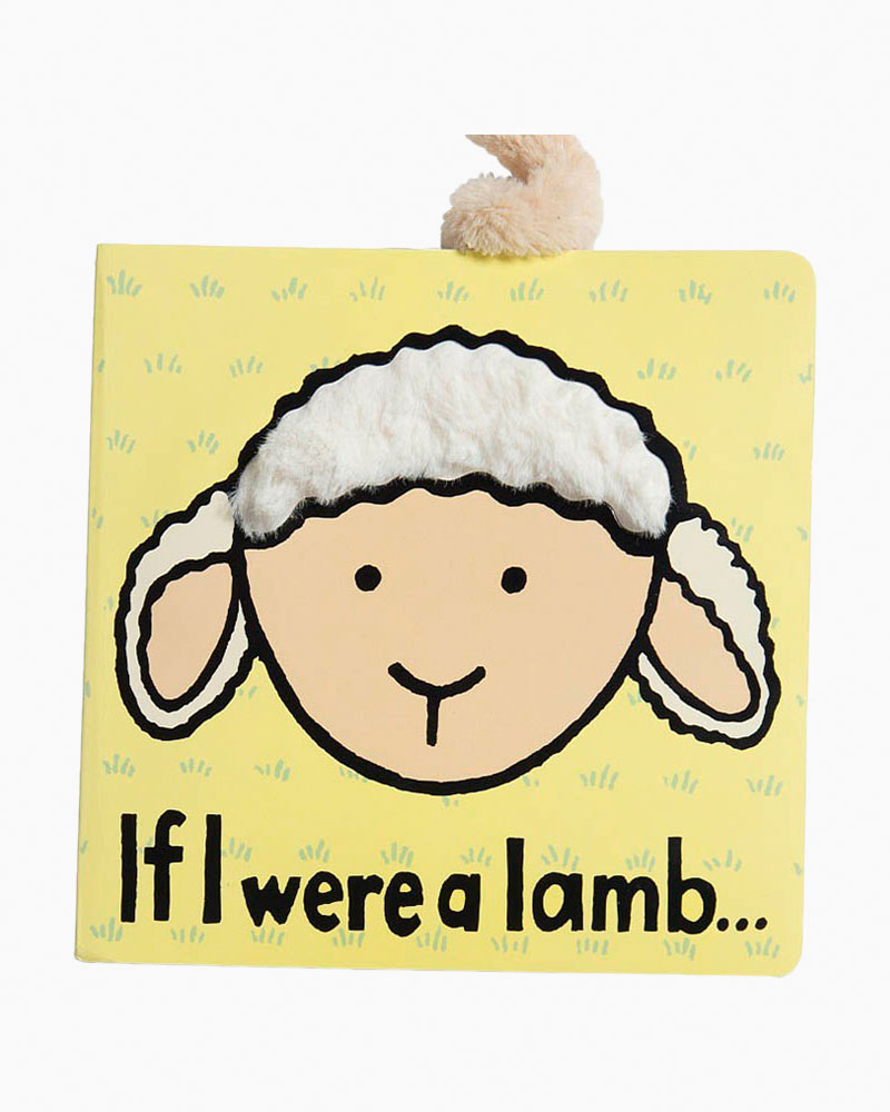 Jellycat If I were a Lamb Soft Touch-and-Feel Baby Book