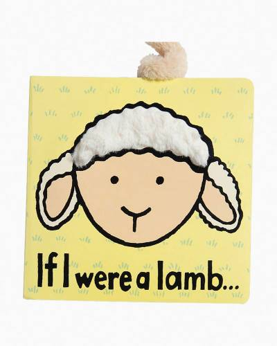 If I were a Lamb Soft Touch-and-Feel Baby Book
