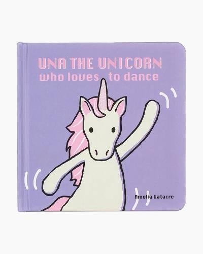 Una The Unicorn Who Loves To Dance (Board Book)