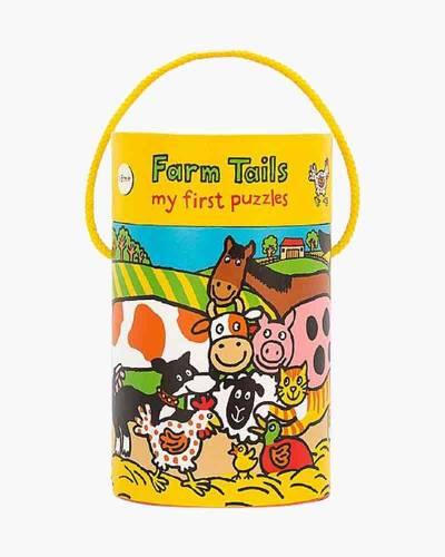 Farm Tails Puzzle 4-Pack