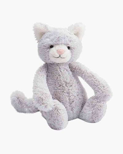 Bashful Grey Kitty Medium Plush