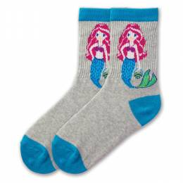 K. Bell Mermaid Girl's Crew Socks