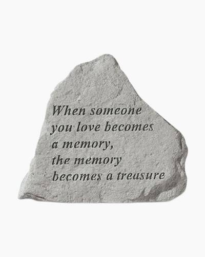 When Someone Garden Stone by Kay Berry