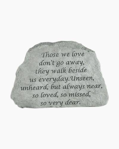 Those We Love Garden Stone by Kay Berry