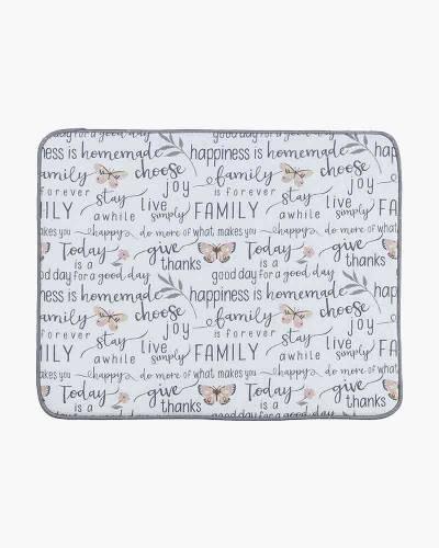 Family Microfiber Drying Mat
