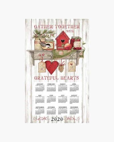 Sentiments 2019 Calendar Towel