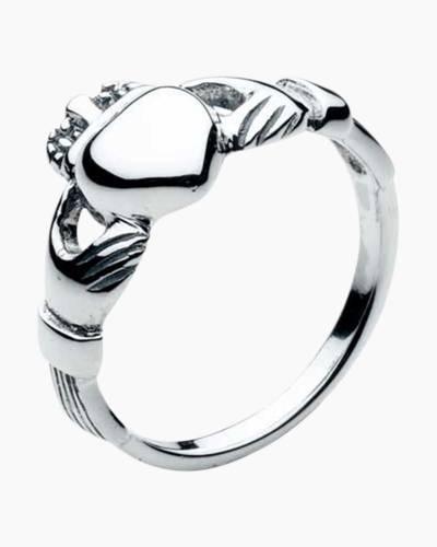 Silver Claddagh Ring