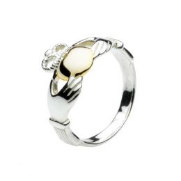 Kit Heath Two-Tone Claddagh Ring