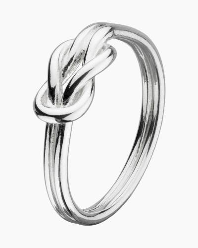 Silver Sailor's Knot Ring (Size 6)