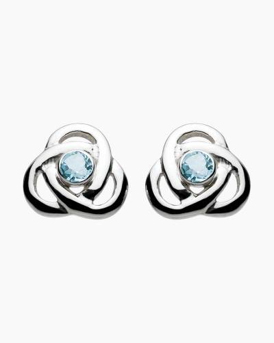 Blue Topaz Oona Earrings