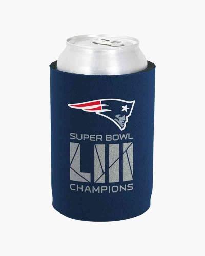New England Patriots Super Bowl LIII Champions Can Holder