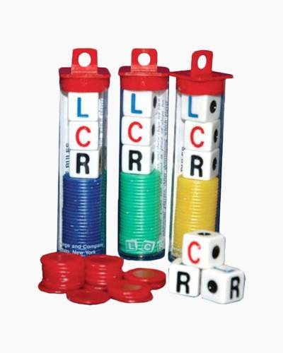 LCR Dice Game (Assorted Colors)