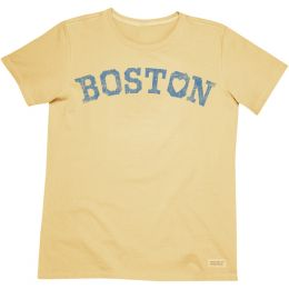 Life is Good Women's Love Boston Tee