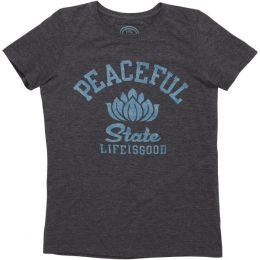 Life is Good Women's Peaceful State Cool Tee