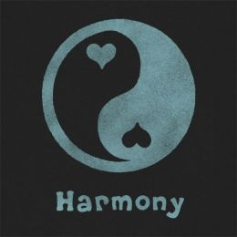Life is Good Women's Ying Yang Harmony Crusher Tee