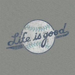 Life is Good Women's Softball Crusher Tee
