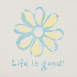 Life is Good Women's Daisy Sleep Vee Tee