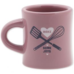 Life is Good Chef Tools Diner Mug