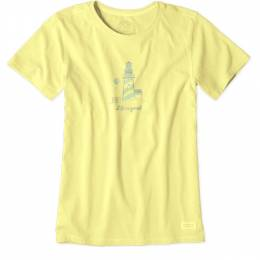 Life is Good Women's Lighthouse Crusher Tee