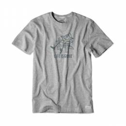Life is Good Men's Adirondack Chill Crusher Tee