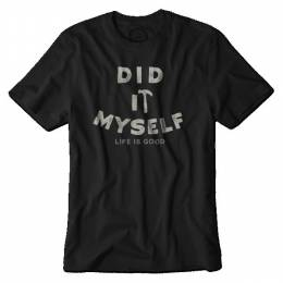 Life is Good Men's Did It Myself Crusher Tee