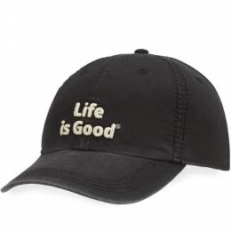 Life is Good Life is Good Classic Chill Cap in Night Black