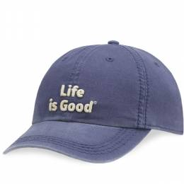 Life is Good Life is Good Classic Chill Cap in Darkest Blue