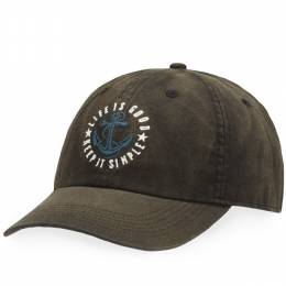 Life is Good Keep It Simple Anchor Beachwash Chill Cap