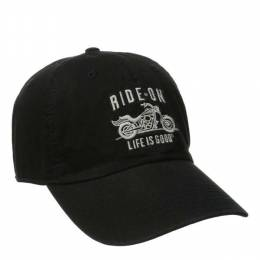 Life is Good Men's Ride on Motorcycle Chill Cap