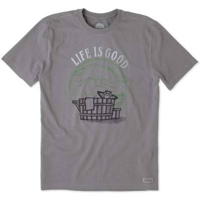Men's Watercolor Hot Tub Crusher Tee