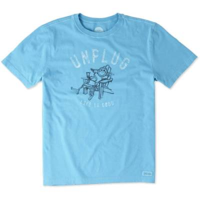 Men's Engraved Unplug Adirondack Crusher Tee