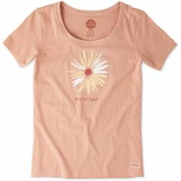 Life is Good Women's Be YOU tiful Flower Crusher Tee