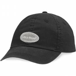 Life is Good Classic Ripstop Chill Cap in Night Black