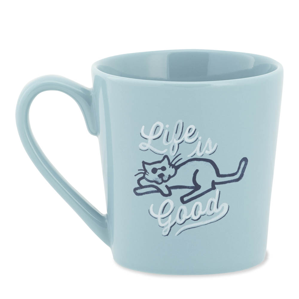 Life is Good Life is Good Cat Everyday Mug