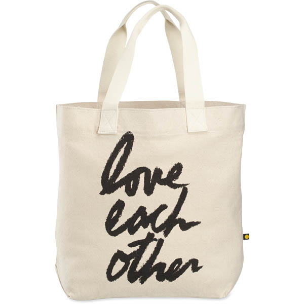 Life is Good Love Each Other Tote Bag