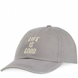 Life is Good Life is Good Chill Cap in Slate Grey