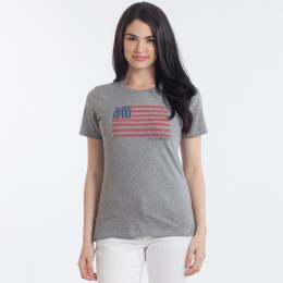 Life is Good Women's Spread Good Vibes Flag Crusher Tee