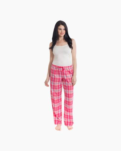 Women's Pink Plaid Classic Sleep Pants