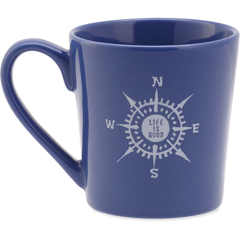 Life is Good Compass Everyday Mug