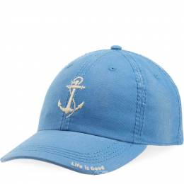 Life is Good Women's Anchor Sunwashed Chill Cap