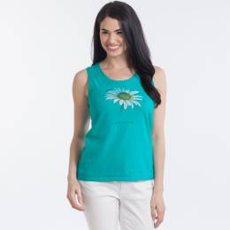 Life is Good Women's Daisy Sleeveless Crusher Scoop